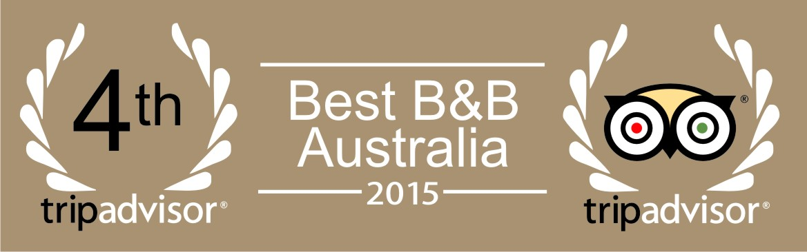 4th Best B&B Australia